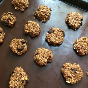 cookies choco-banane