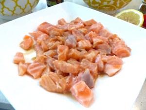 bowl saumon avocat de l'été