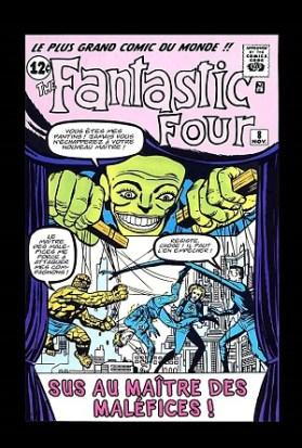Les Quatre Fantastiques 8 (novembre 1962)