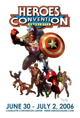 Promotional Heroes Convention Poster