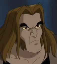 Dent de Sabre. Image extraite de X-Men Evolution