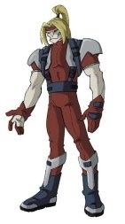 Omega Red.Image extraite de X-Men Evolution