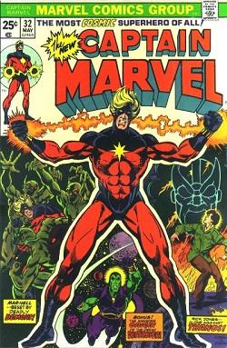 Captain Marvel 32 (mai 1974)