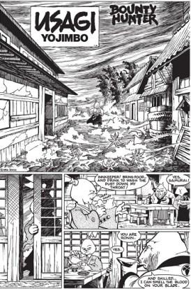 Image extraite de Usagi Yojimbo