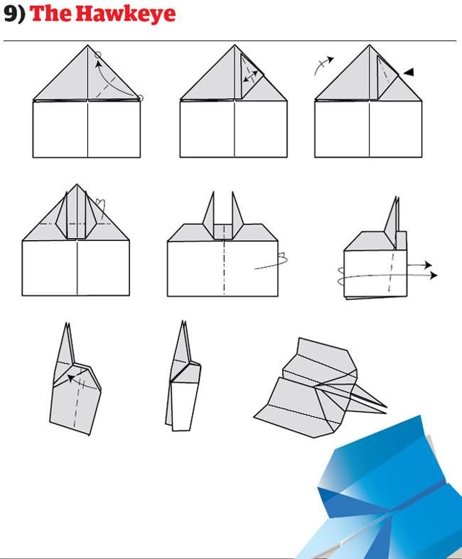 Comment Faire Des Avions En Papier : comment, faire, avions, papier, Instructions, Plier, Avions, Papier, Originaux