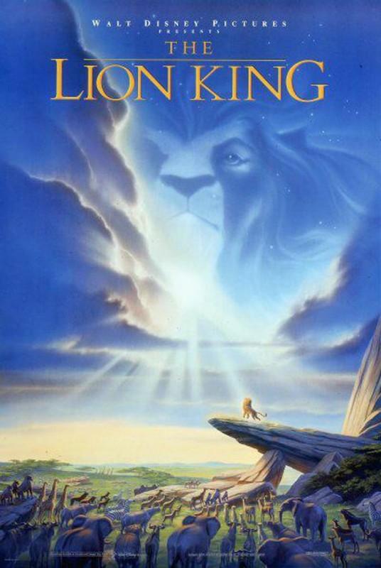 1994 The Lion King Poster 536x800 Les affiches des 53 films Disney de 1937 à 2013 design cinema 2 art