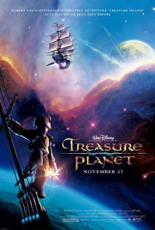 2002 Treasure Planet Poster 540x800 Les affiches des 53 films Disney de 1937 à 2013 design cinema 2 art