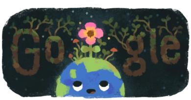 Equinoccio de primavera: Google le dio la bienvenida con un alegre doodle