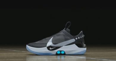 Nike presentó sus nuevas zapatillas que se ajustan automáticamente y se controlan desde el celular