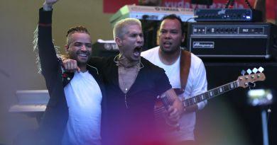 Sanz, Juanes, Chyno y Nacho cierran concierto en Cúcuta apelando a libertad