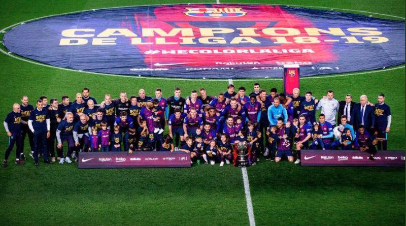 Barcelona se corona campeón de la Liga de España con gol de Lionel Messi