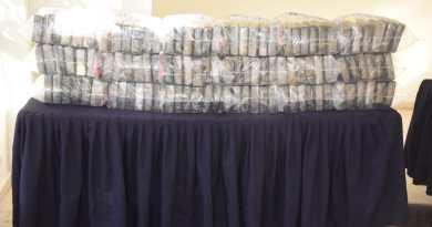 Decomisan en Ecuador 81 kilos de clorhidrato cocaína que iba a Centroamérica