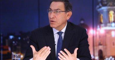 Presidente Vizcarra rechaza que vinculen a Ejecutivo con muerte de Alan García