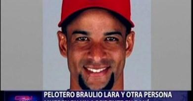 Pelotero Braulio Lara fallece en accidente de transito