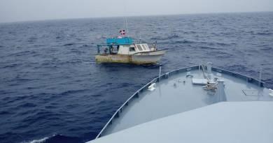 """Capturan embarcación """"La Yenny"""" realizando pesca ilegalen aguas jurisdiccionales de Puerto Rico"""