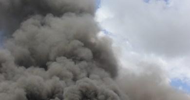Incendio sigue afectando el vertedero de Haina