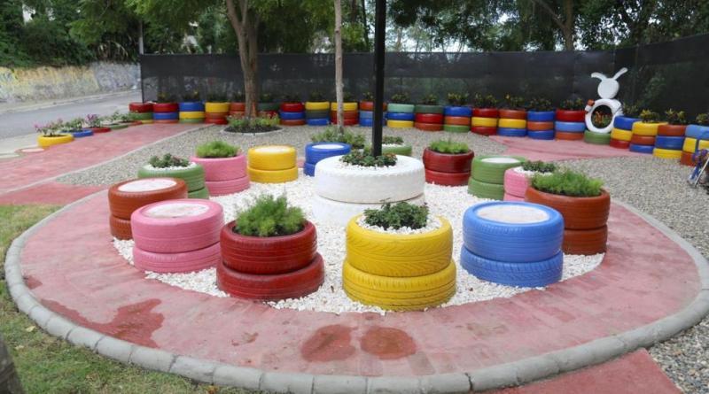 Abel Martínez entrega el segundo de 10 jardines ecológicos en espacios rescatados