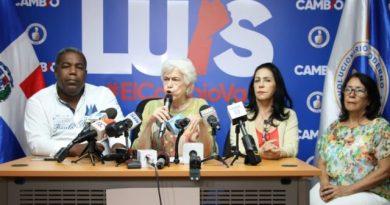 Ortiz Bosch asegura marcha que encabezará Luis Abinader será pacífica