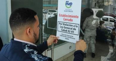 Salud Pública cierra el Centro de Ginecología y Obstetricia Dr. Burgos Mercado de SDE