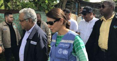 Representante OPS/OMS RD: problemática del dengue nos involucra a todos