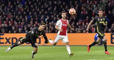 Pese a gol de Cristiano Ronaldo, Ajax rescata empate ante Juve