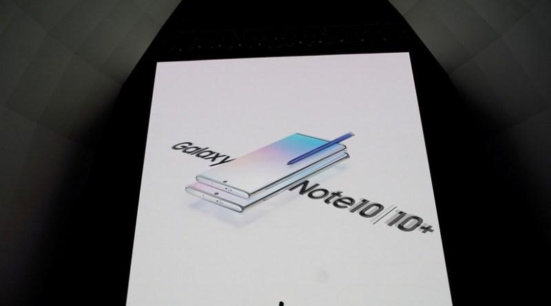 Samsung presenta el Galaxy Designate 10, apto para 5G