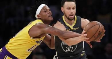 Warriors vencen a Lakers y dan paso para liderar el Oeste