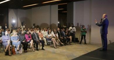 Jóvenes empresarios anuncian respaldo a Francisco Domínguez Brito