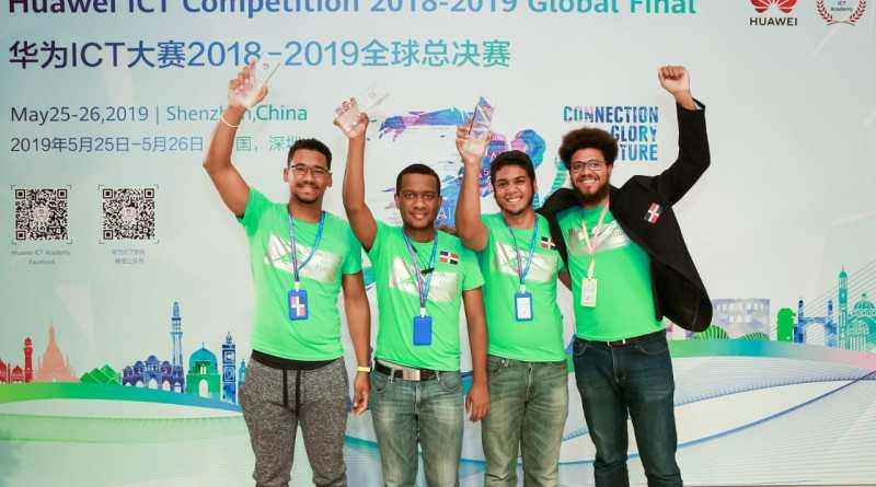 Estudiantes dominicanos ganan tercer lugar en competencia world en China
