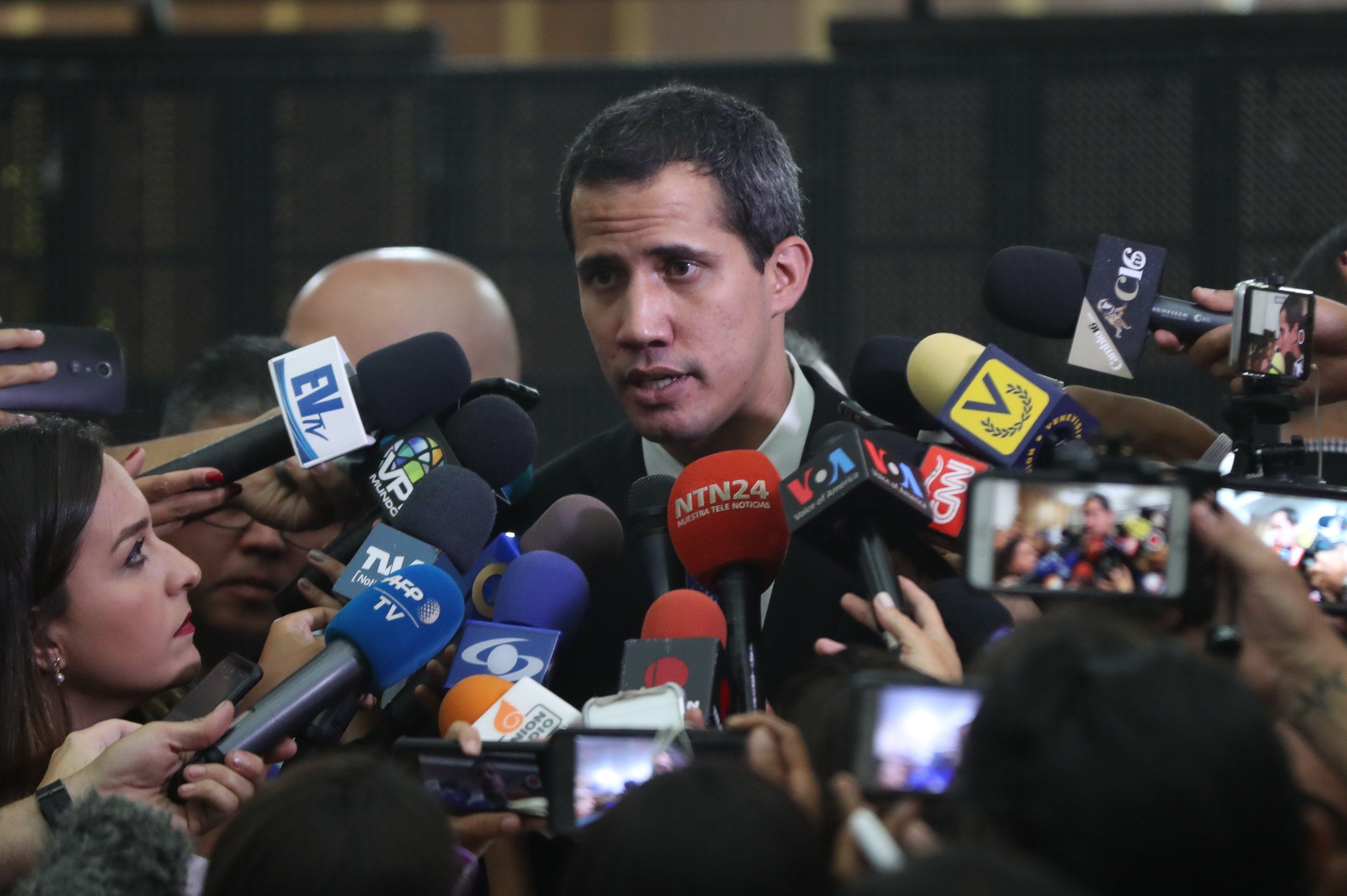 Guaido Alerta A Onu Que Disaster En Venezuela Esta A Punto