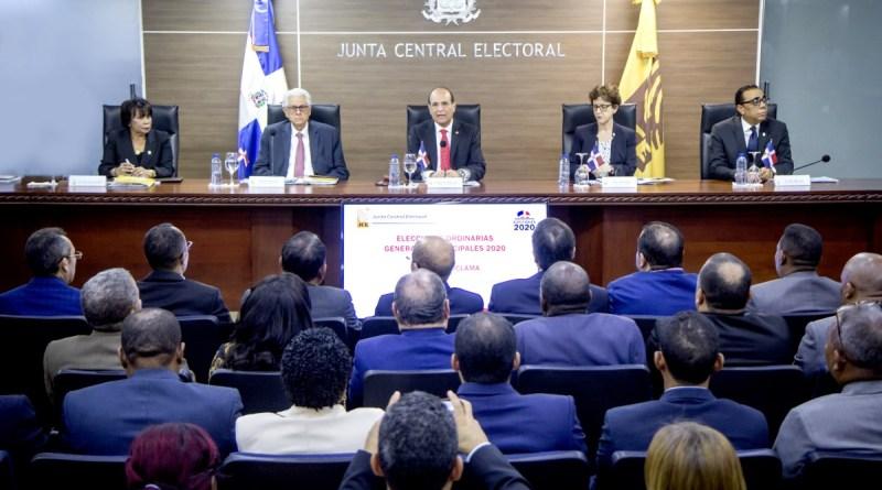 Pleno de JCE deja abierto proceso de elecciones municipales febrero 2020