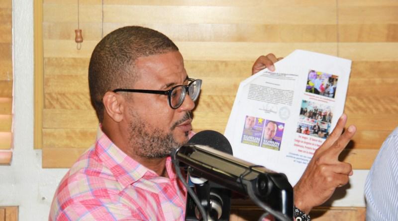 Aspirante a presidir el CARD: no hay condiciones para realizar elecciones de diciembre