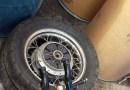 Aduanas incauta motocicleta, rifle y municiones en muelle Haina Oriental