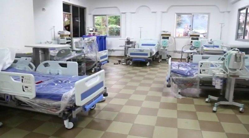 Gobierno entrega centro de aislamiento y cuidados intensivos del COVID-19 en SFM