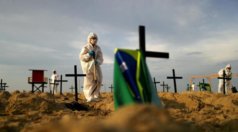 Brasil supera las 71.000 víctimas por COVID y los 1,83 millones de infectados