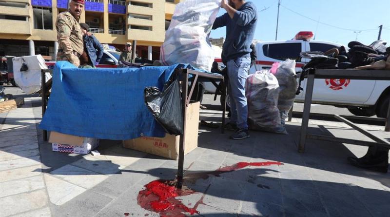 Suben a 32 los muertos en el doble ataque suicida en el centro de Bagdad