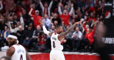 Lillard suma 36 puntos en nueva victoria de los Blazers sobre Orlando