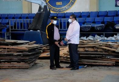 Ministro de Deportes dispone la remodelación del membership Mauricio Báez