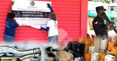 Autoridades han apresado 34 personas, desmantelan cuatro fábricas e intervienen 400 comercios por bebidas adulteradas