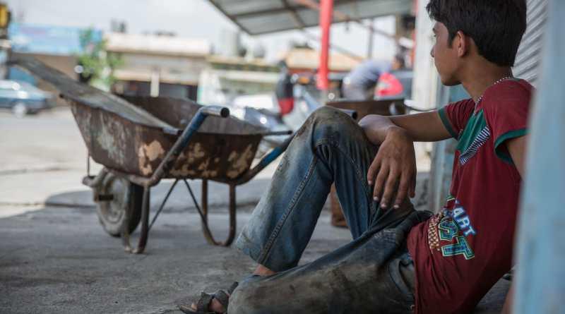 Niños de 5 a 14 años trabajan y no están escolarizados, según la UNICEF