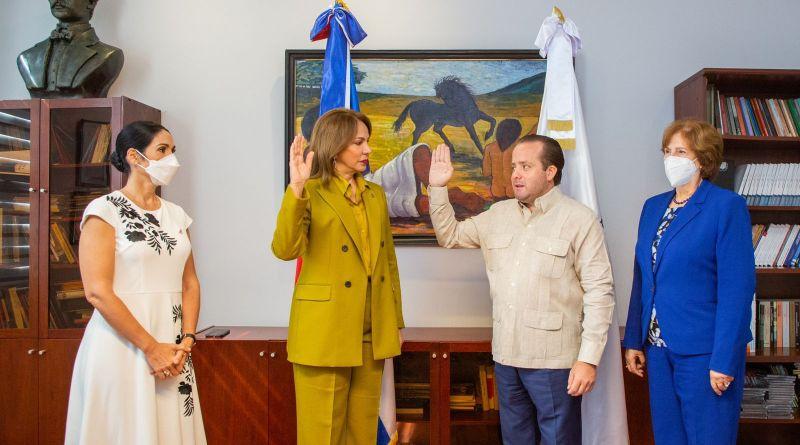 Milagros Germán asume como ministra de Cultura
