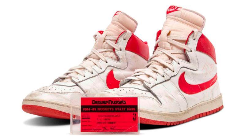 Sotheby's subastará unas zapatillas de Michael Jordan valoradas en 1,5 millones de dólares