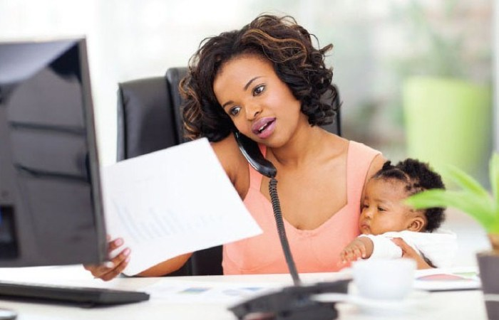 woman-with-child-working-from-home