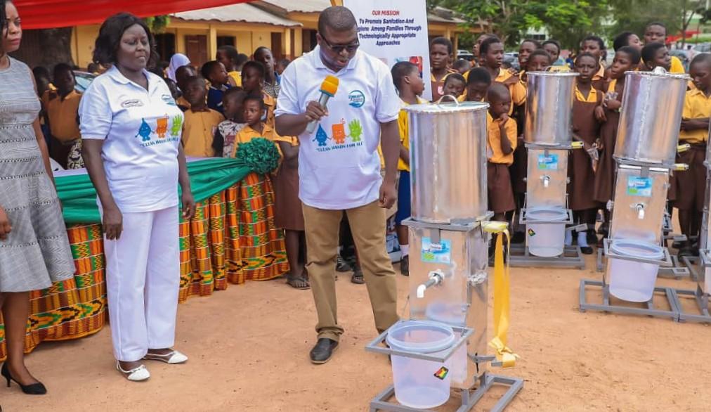 Teckytap-Water Sanitation and Hygiene Intervention
