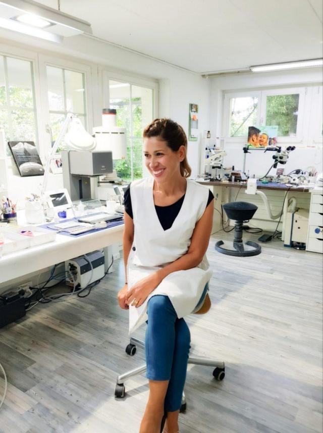 Marion Gredig  Zihler im Labor Gredig