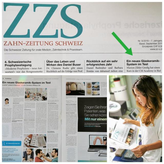 Zahnzeitung Schweiz Artikel Lithium disilikat