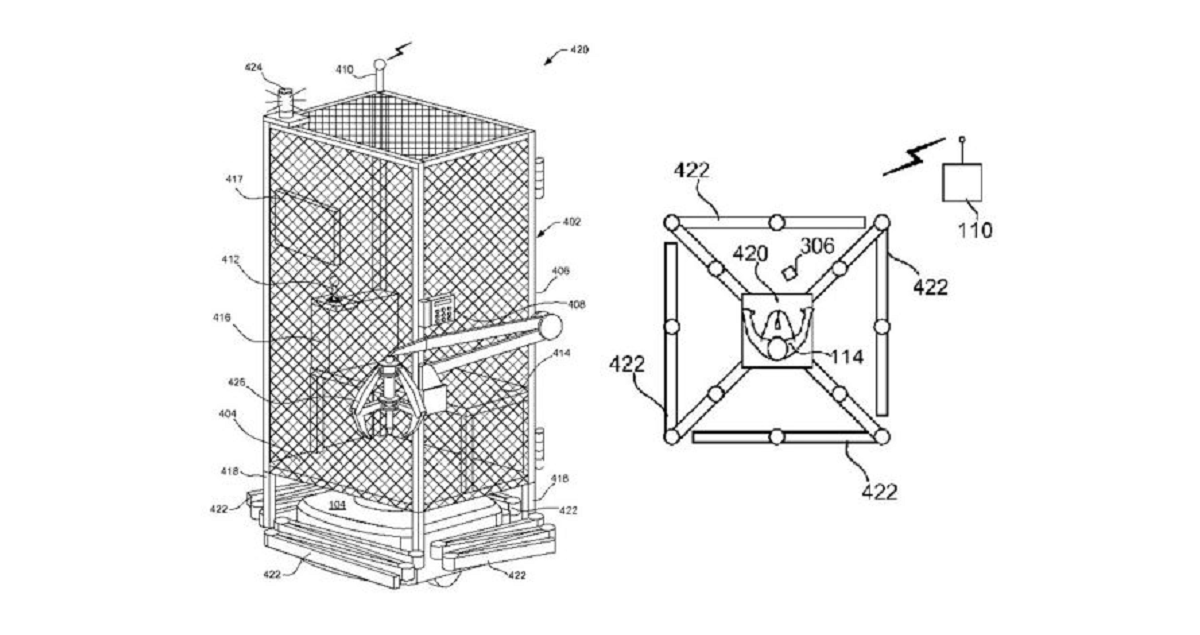 Amazon Patented Cages For Workers