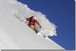 bon skieur poudreuse - laboratoire du skieur