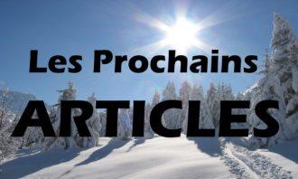 prochains articles - labo du skieur
