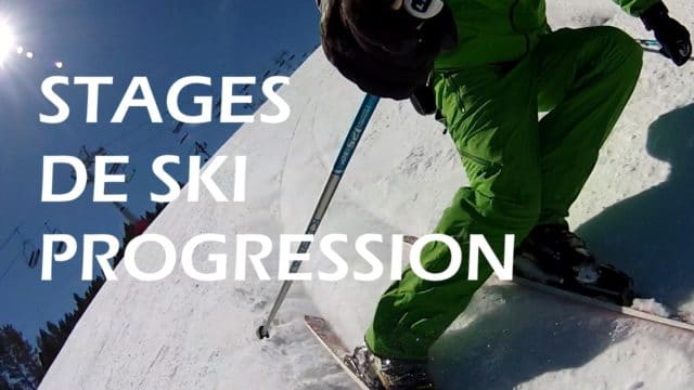 Stage de ski Progression
